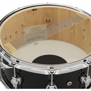 DW Design Series Black Friday Exclusive 6.5x14 Snare Drum in Piano Black