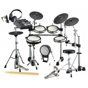 Yamaha DTX790K Electronic Drum Set Bundle