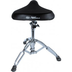 Pearl D-80 Drum Throne Double Braced Saddle Seat