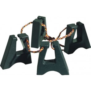 Latin Percussion LP637 Rubber Conga Feet (Set of 4)