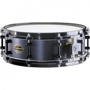 Noble & Cooley 4.75x 14'' Alloy Classic Snare Black