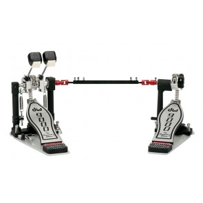 DW Drums 9000 Series Lefty Double Bass Drum Pedal (DWCP9002PBL)
