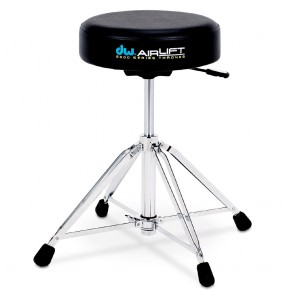 DW Drums 9000 Series Double Braced Round Air Lift Throne (DWCP9100AL)