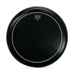 "Remo 16"" Ebony Pinstripe Batter Drumhead"