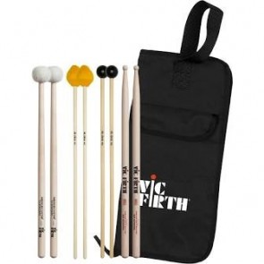 Vic Firth Intermediate Education Pack (includes SD1,  M3, M6, T3, BSB)