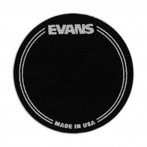 Evans EQ Single Pedal Patch, Black Nylon
