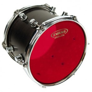 "Evans 10"" Hydraulic Red Drumhead"