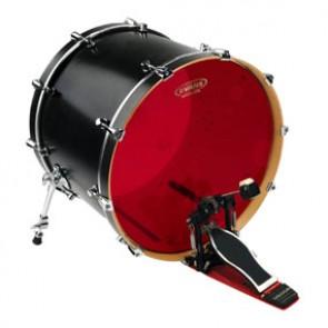 "Evans 20"" Hydraulic Red Drumhead"