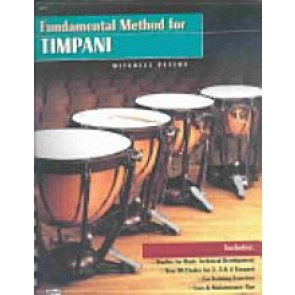 Fundamental Method for Timpani by Mitchell Peters