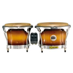 "Meinl Free Ride Series Wood Bongos 7"" & 8 1/2"" Gold Amber Sunburst"