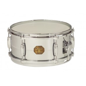 Gretsch 6X13 Chrome Over Brass Shell Snare Drum