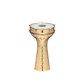 "Meinl Copper Darbuka Brass Plated Hand Hammered 7 7/8"" x 15 1/2"""