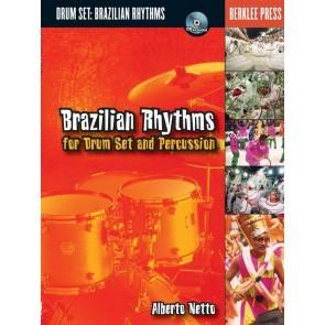 Hal Leonard Brazilian Rhythms for Drum Set and Percussion  - Berklee Labs