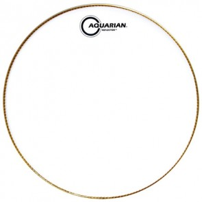 "Aquarian 16"" Ice White Reflector Series Drumhead"