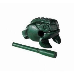 Meinl NINO Wood Frog Large Green