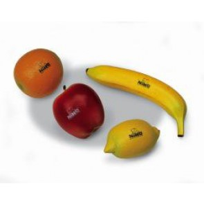 Meinl NINO Botany Shaker Assortment of 4 Pieces Fruit