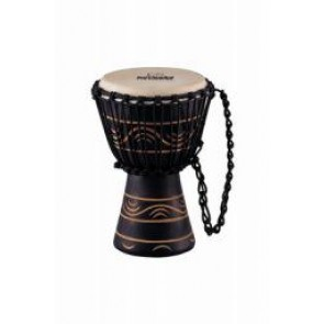 "Meinl NINO African Style Rope Tuned Djembe 7"" X Small Moon Rhythm Series"