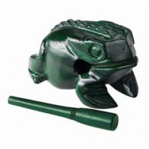 Meinl NINO Wood Frog Extra Large Green
