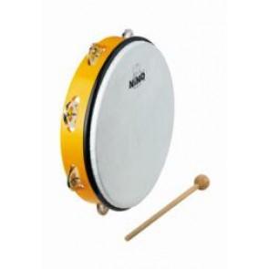 Meinl NINO ABS 10 Tambourine Yellow