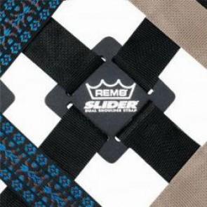 REMO Dual Slider Percussion Strap, 90'' Length (Short), Black