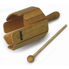 Meinl NINO Wood Stirring Drum With Handle & Beater Natural