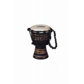 "Meinl NINO African Style Rope Tuned Djembe 4 1/2"" XX Small Moon Rhythm Series"