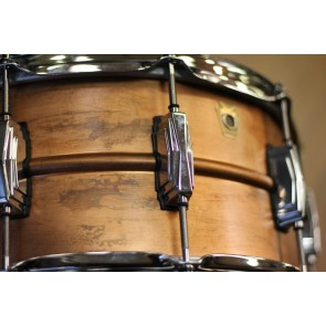 Ludwig 6.5x14 Raw Copper Phonic Snare Drum