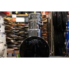 "DW Drum Workshop Performance Series 12"" 16"" 22"" with 6.5x14"" Snare Shell Pack - Gun Metal Metallic"