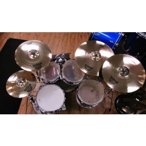 "Sabian AAX X-Plosion Cymbal Set With Free 17"" Crash - Columbus Percussion Exclusive"