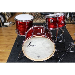 Sonor Vintage Series 3 Piece Shell Pack, 13,16,22 in Vintage Red Oyster