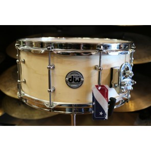DW Drum Workshop 6x14 Collectors Series Snare Drum Satin Oil, Tube Lugs, Chrome Hardware
