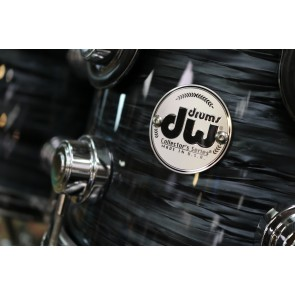 DW Collectors Series Maple Kit, Grey Oyster w/ Chrome Hardware, 8x10, 9x12, 12x14 Floor, 14x16 Floor, 18x22 Bass
