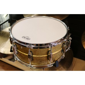 Ludwig 14 x 6.5 Raw Brass Phonic Snare Drum