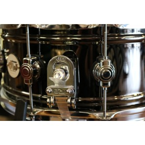 DW Design Series Black Nickel over Brass 6.5x14 Snare Drum DDSD6514BNCR
