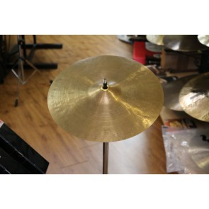 "Used 14"" Vintage K Zildjian, Istanbul, Bell Cracks"