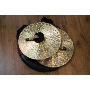 Used Zildjian K Constantinople 18 Vintage Orchestral Crash Cymbal Pair with Zildjian Cymbal bag