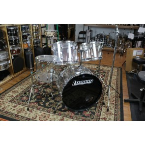 Vintage Ludwig '70's Vistalites 14x26,10x14,12x15,16x18 w/hardware and bags, very good condition