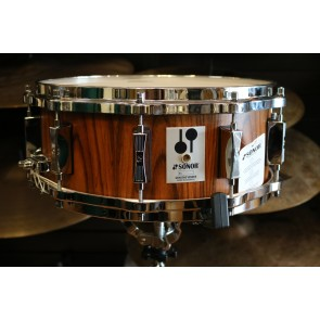 "Sonor Phonic Re-Issue Snare drum - Inner/Outer Rosewood Veneer 14"" x 5 3/4"" Beech"