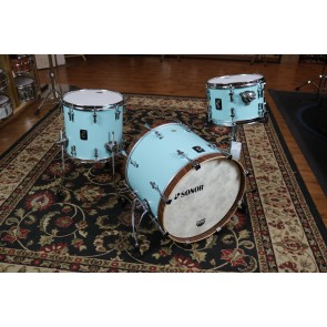 Sonor SQ1, 12X8,14X13,20X16, Cruiser Blue, Walnut Hoops SQ1-320-NM-CRB