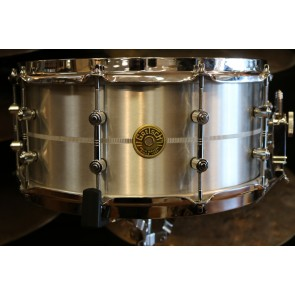Used Gretsch USA 6.5X14 Solid Aluminum Snare