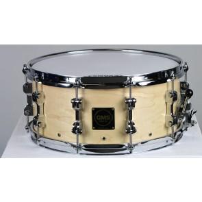 GMS Perimeter Vented Snare Drum 6.5x14, Natural