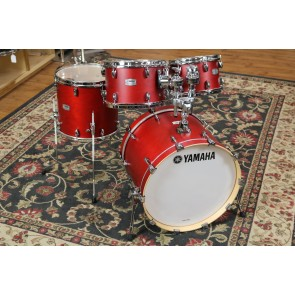 Yamaha Tour Custom Drum Set - 15x20, 7x10, 8x12,13x14 In Candy Apple Satin TMP0F4CAS
