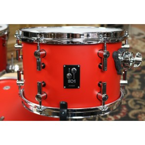 Sonor SQ1 Birch Drumset 12X8, 14X13, 20X16 in Hot Rod Red Finish