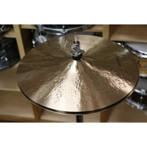 "Sabian 14"" Artisan Light Hats - Demo of exact cymbal - top - 1049g - bottom - 1441"