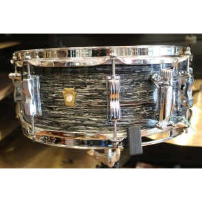 Ludwig 5.5x14 Jazz Festival Snare Drum, Legacy Mahogany Shell in Vintage Black Oyster