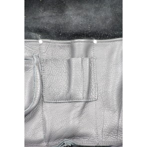 Woodshed Leatherworks Black Leather Deluxe Stick Bag