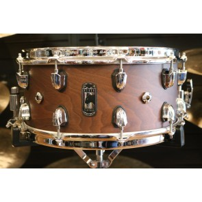Mapex 30th Anniversary Modern Classic Limited Edition Walnut Snare Drum SEBPWN465CWH