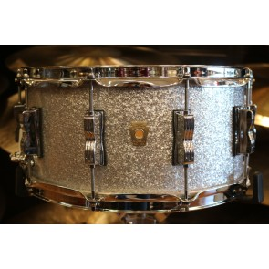 Ludwig 6.5x14 Classic Maple LS403 In Silver Sparkle