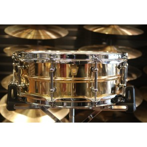 Ludwig 5x14 smooth Bronze Phonic with Tube Lugs