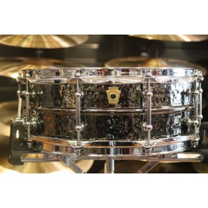 Ludwig 5x14 Hammered Black Beauty w/ Tube Lugs